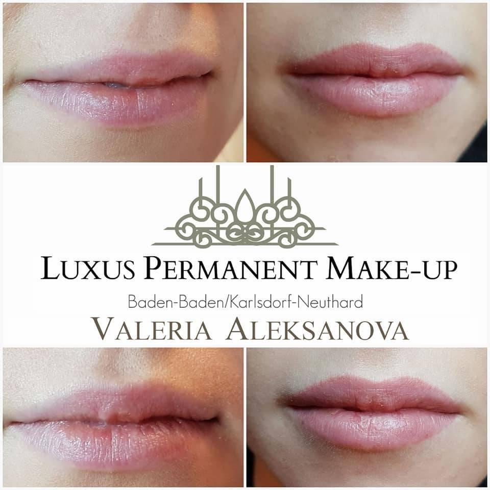 Berühmt Valeria Permanent Make-up - Permanent Make-up Lippen @GA_56